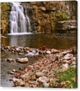 France Park Falls Canvas Print
