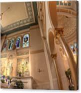 Franciscan Monastery Iv Canvas Print
