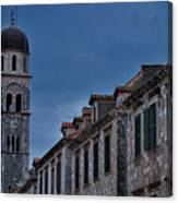 Franciscan Monastery Tower - Dubrovnik Canvas Print