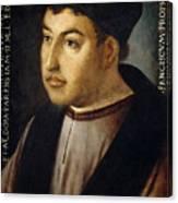 Francisco Fernandez De Cordoba And Mendoza Canvas Print