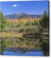 Franconia Autumn Reflections Canvas Print