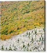 Franconia Notch State Park - White Mountains Nh Usa Autumn Canvas Print