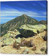 Franconia Ridge And Mount Lafayette Alpine Canvas Print