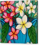 Frangipani Sawadee Canvas Print