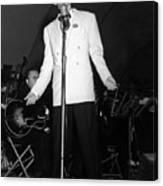 Frank Sinatra  Live On Stage 1939 Canvas Print