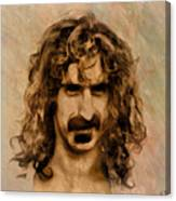Frank Zappa Collection - 1 Canvas Print