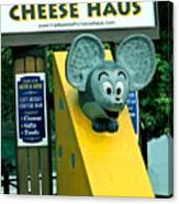 Frankenmuth Cheese Haus Mouse  Canvas Print