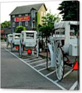 Frankenmuth Michigan Carriages At The Mill Canvas Print