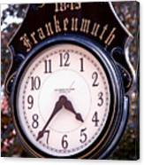 Frankenmuth Time Canvas Print