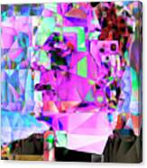 Frankenstein In Abstract Cubism 20170407 Canvas Print