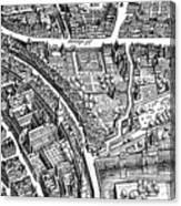 Frankfurt Am Main, 1628 Canvas Print