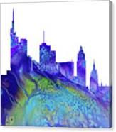 Frankfurt Skyline 3 Canvas Print