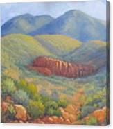 Franklin Mountain Morning Canvas Print