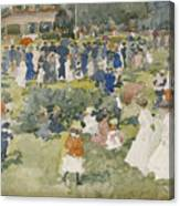 Franklin Park Boston Canvas Print