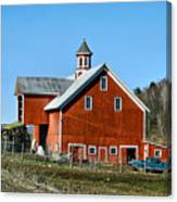 Franklin Spring Barn Canvas Print