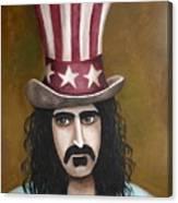 Franks Hat Canvas Print