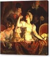 Franz Xavier Simm Canvas Print