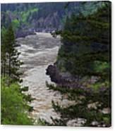 Fraser River British Columbia Canvas Print