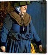 Frau Kitzler Goes Hunting Canvas Print
