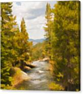 Frazier Creek Canvas Print