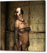 Freaks - The Second Girl In The Basment Canvas Print