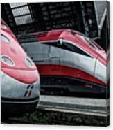 Freccia Rossa Trains. Canvas Print