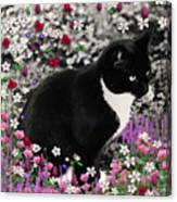 Freckles In Flowers II Canvas Print