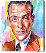 Fred Astaire Painting Canvas Print