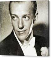 Fred Astaire, Vintage Actor And Dancer Canvas Print