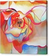 Fred Martin Begonia Canvas Print