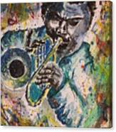 Freddie Hubbard Jazz Canvas Print