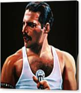 Freddie Mercury Canvas Print