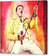 Freddy Mercury Canvas Print