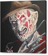 Freddy's Back Canvas Print