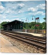 Fredericksburg Rail Station Canvas Print