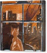 Fredrick's Window Canvas Print