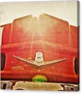 Fred's Farm Truck Canvas Print