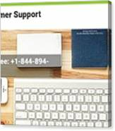 Free And Fast Quicken Customer Support Phone Number @ 1-844-894-7054 Canvas Print