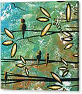 Free As A Bird By Madart Canvas Print
