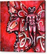 Free As An Aries Canvas Print