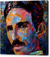 Free Energy Nikola Tesla Canvas Print