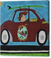 Free Range Bug Canvas Print