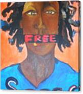 Free Speech Canvas Print