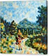 Free Woman Canvas Print