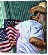 Freedom Man Canvas Print