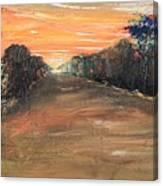 Freedom Road Canvas Print