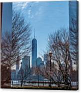 Freedom Tower Framed Canvas Print