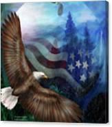 Freedom's Flight Canvas Print
