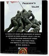 Freedom's Valor II Canvas Print