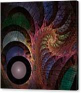 Freefall - Fractal Art Canvas Print